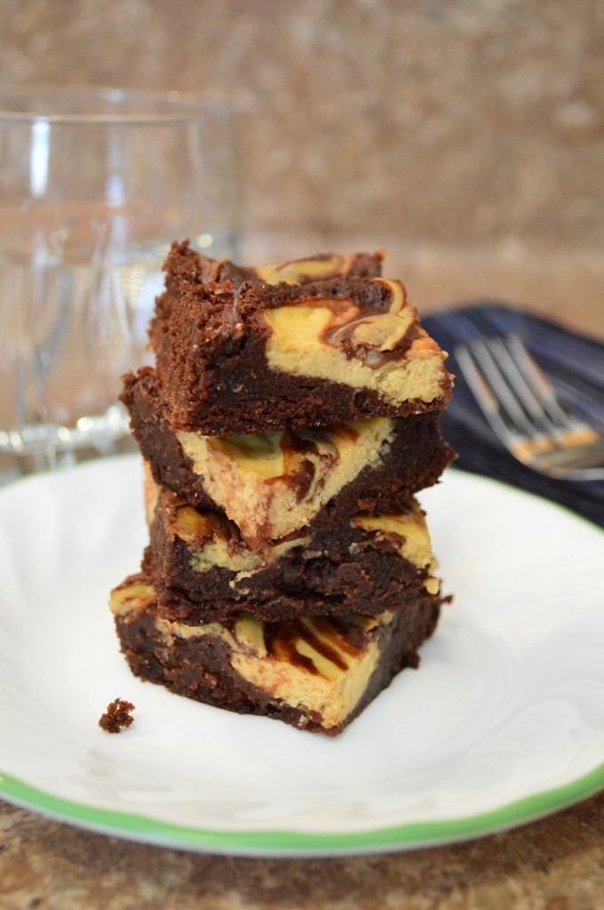 Clean Cheesecake Brownies