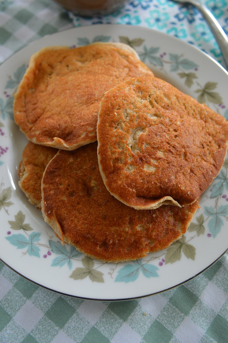 Fluffy Oat Flour Pancakes! 6