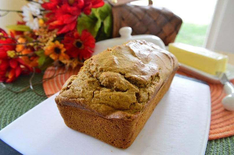 Pumpkin bread 2