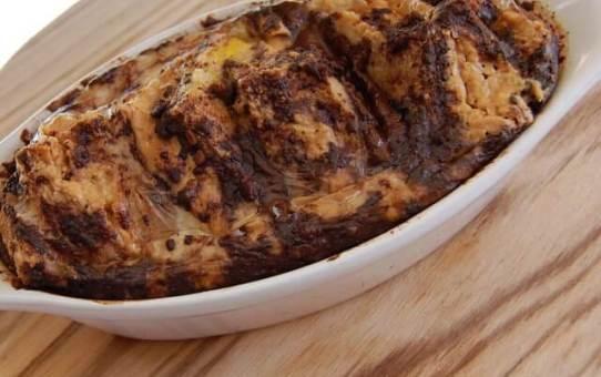 PB Chocolate Bread Pudding