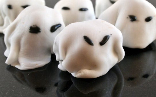 Gluten Free Ghostly Bites for Halloween