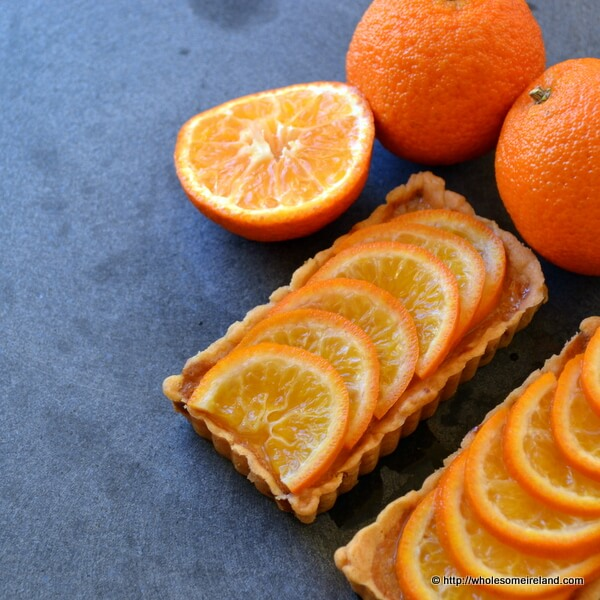 Clementine Curd Tartlets