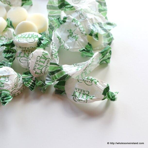 Mint Cream Brownies - Wholesome Ireland - Irish Food & Parenting Blogg