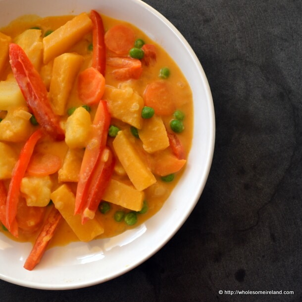 Thai Yellow Curry from Wholesome Ireland - Irish Food & Parenting Blog