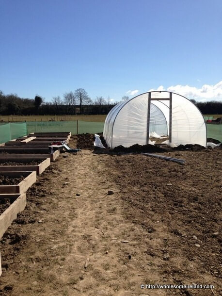 New Allotments Are Taking Shape