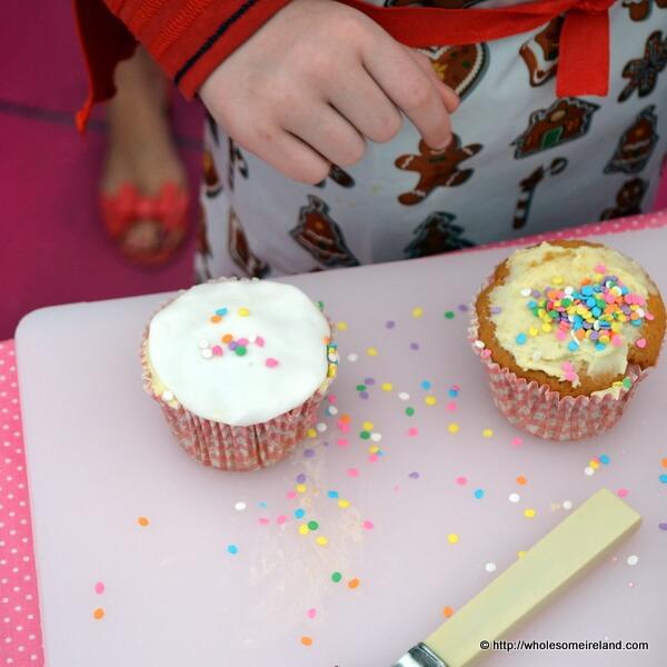 Mmmmm Sprinkles #CupCakeCamp