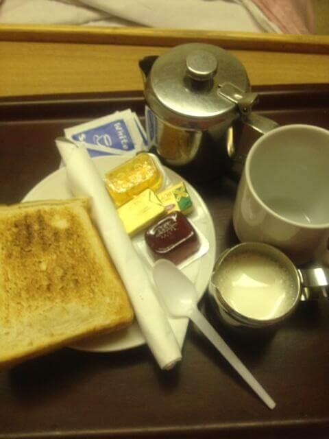 Hospital Tea & Toast