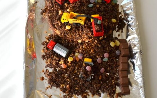 Building Site Cake