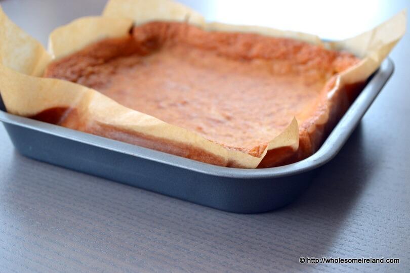 Blueberry Slice - Wholesome Ireland - Food & Parenting Blog