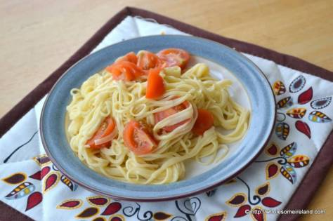Homemade Spaghetti - Wholesome Ireland - Food & Parenting Blog