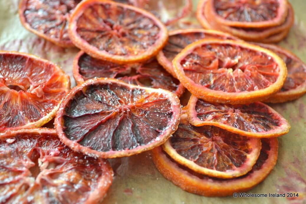 How to make orange crisps from Wholesome Ireland, Irish Food & Parenting Blog