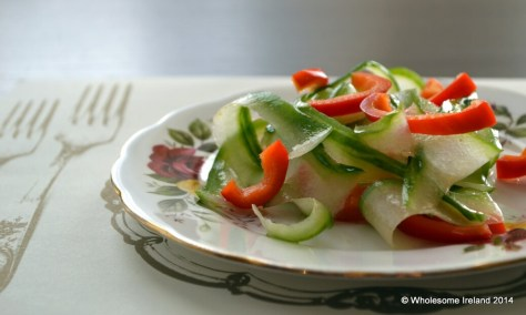 Warm Prawn Salad 1