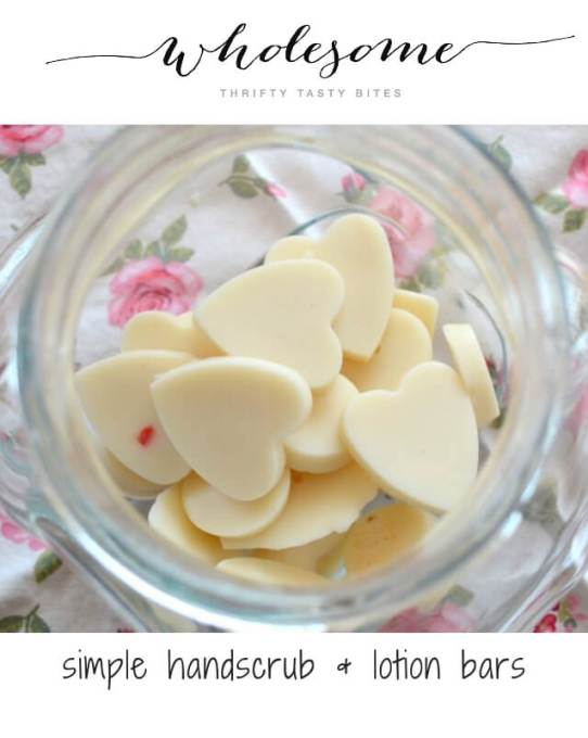 Simple Handscrub & Lotion Bars