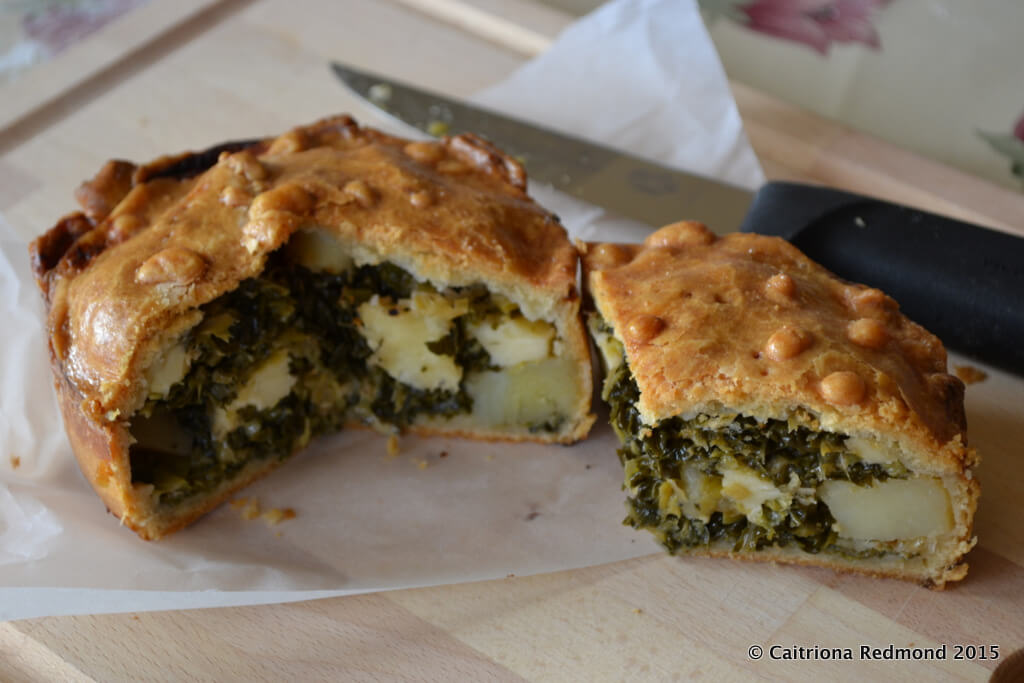 St Patrick's Day Pie
