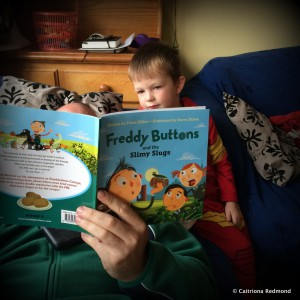 Freddie Buttons Book Review - Caitriona Redmond