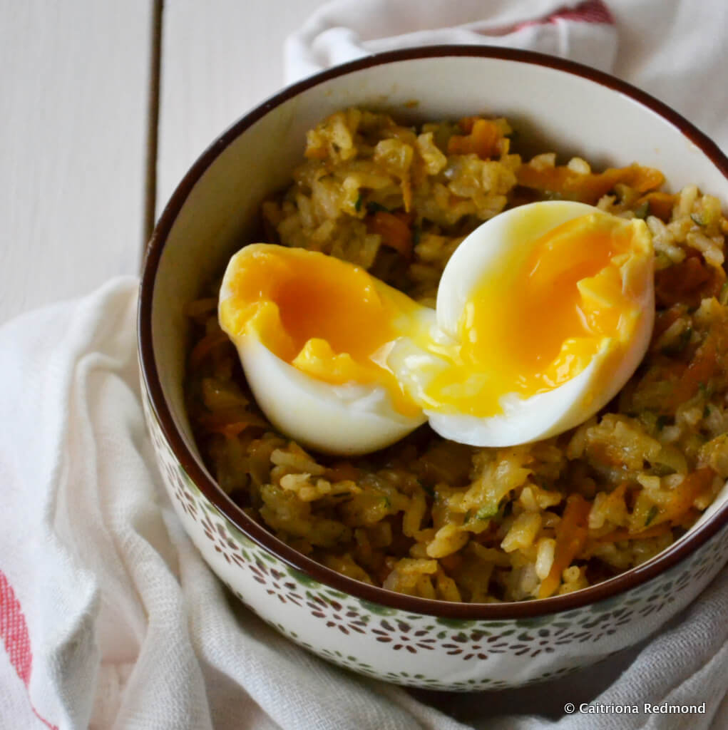 Carrot And Courgette Pilaf