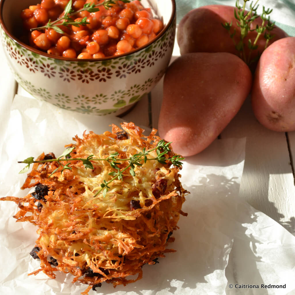Swift Baked Crispy Potatoes #Ad