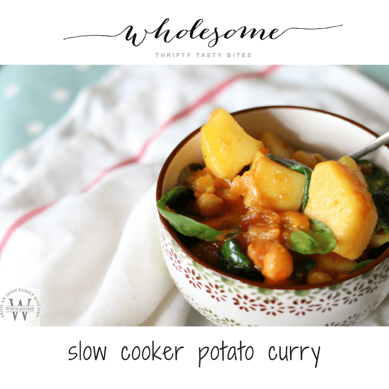 Slow Cooker Potato Curry - Ad