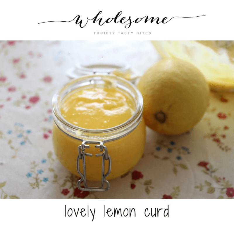 Lovely Lemon Curd