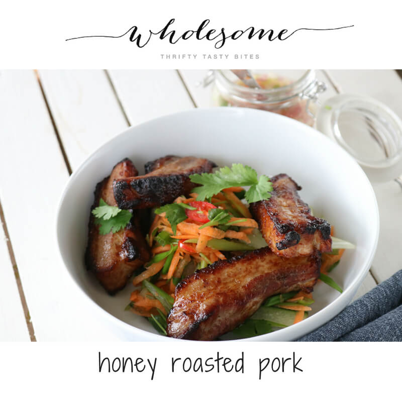 Honey Roasted Pork Recipe