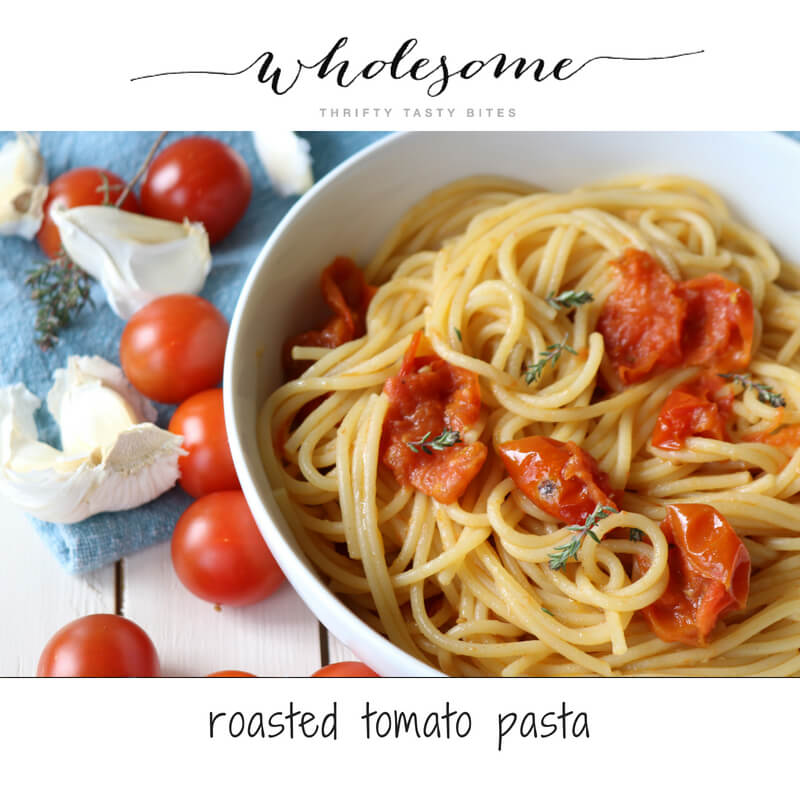 Roasted Tomato Pasta Recipe