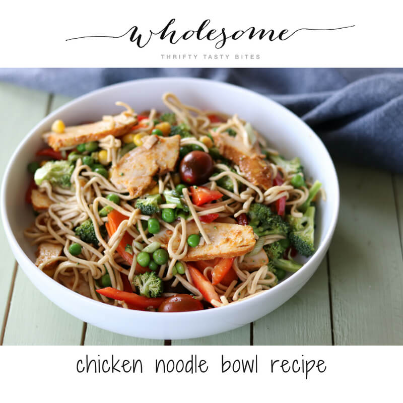Chicken Noodle Bowl Recipe