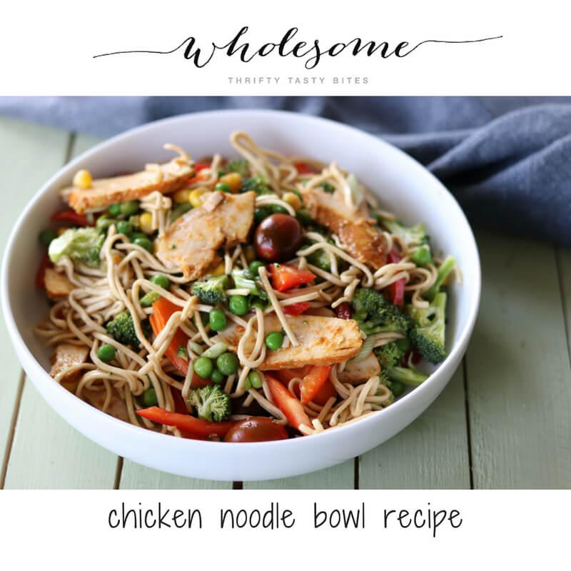 Chicken Noodle Bowl Recipe