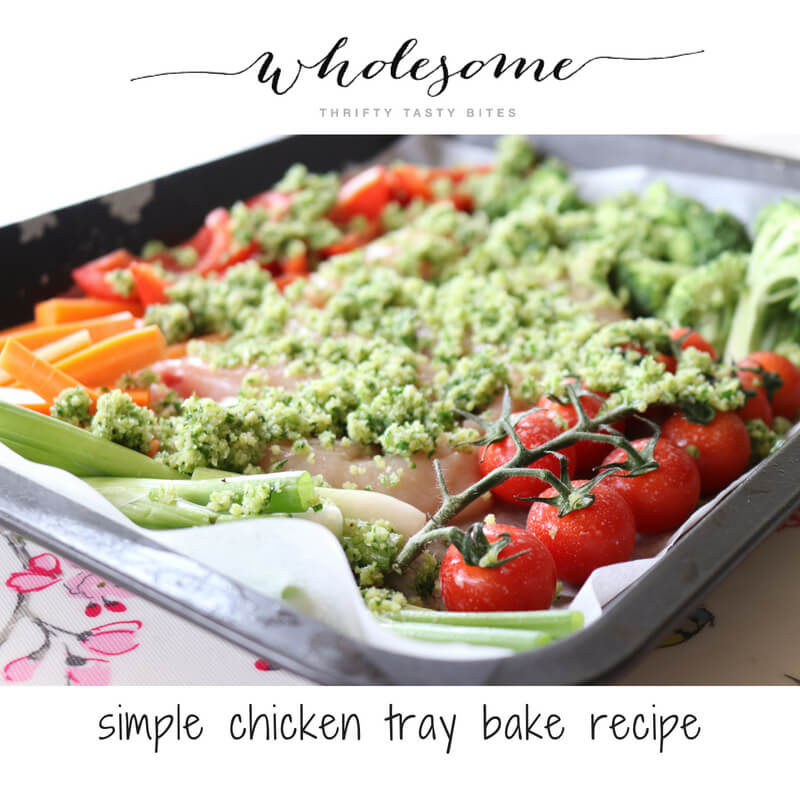 Simple Chicken Tray Bake Recipe
