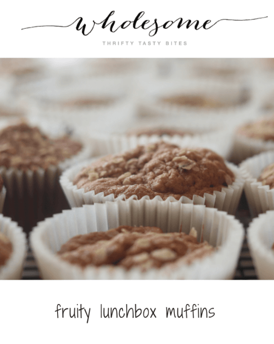 Fruity Lunchbox Muffins