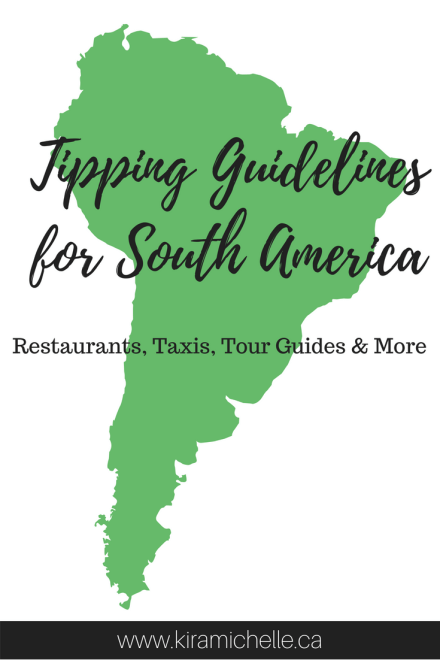 Tipping in South America