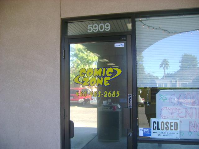 ComicZone door