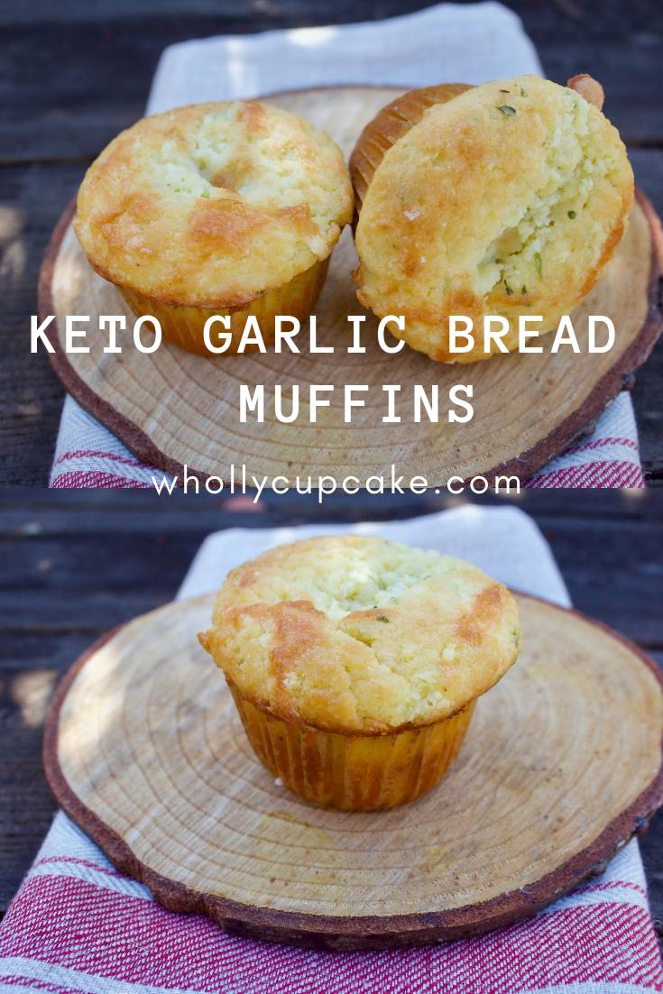 keto garlic muffins