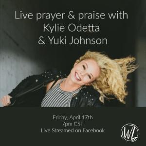 Prayer and praise invite