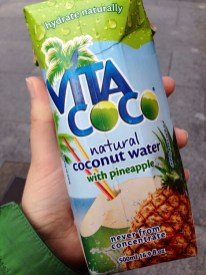 Free coconut water on the way to work? Yes please