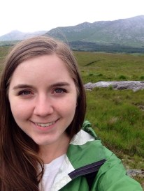 Selfie in a peat bog
