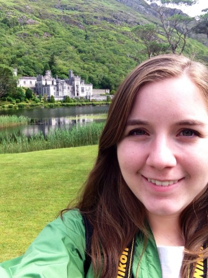 Selfie with the Kylemore Abbey