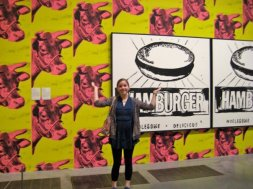 At Tate Modern - I used to be obsessed with Andy Warhol!