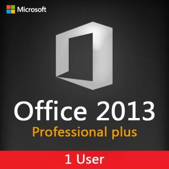 MICROSOFT OFFICE 2013 Pro plus 1 User