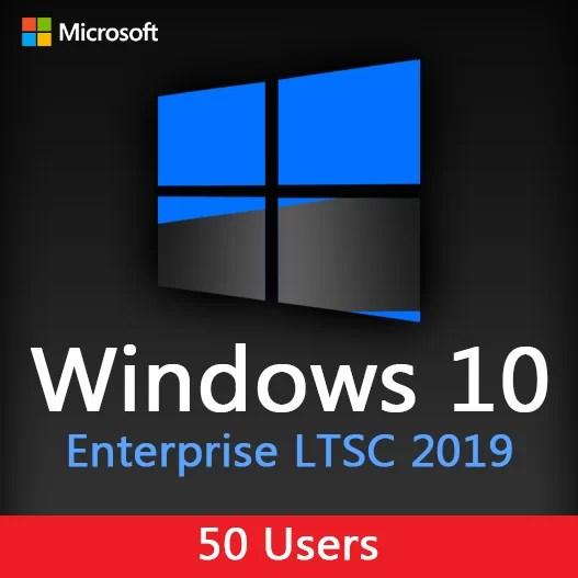 Windows 10 Enterprise LTSC 2019 - 50 PC