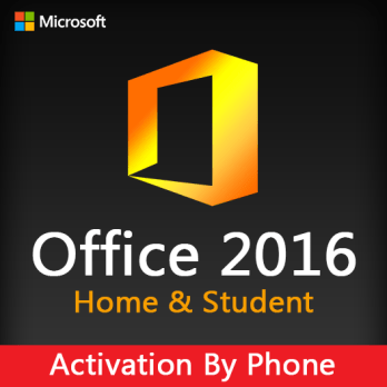 Office 2016 Home & Student (Activation By Phone)