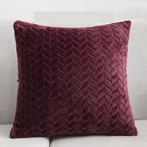 Plush Cushion Cover