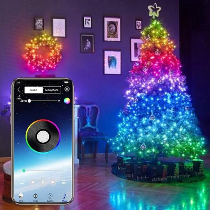 Smart Christmas LED String Lights