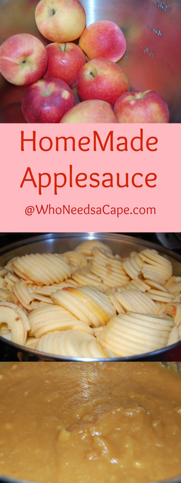 HomeMade Applesauce is one of falls best treats! A snap to make - you're going to love it.