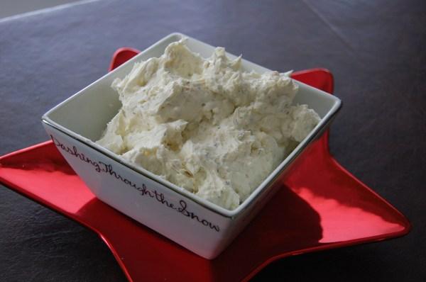 Feta Cream Cheese Dip ~ Who Needs A Cape?