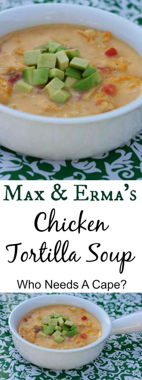 Are you a soup lover? Then you have to try this restaurant quality {copycat} Max & Erma's Chicken Tortilla Soup! Make at home and save loads of money.