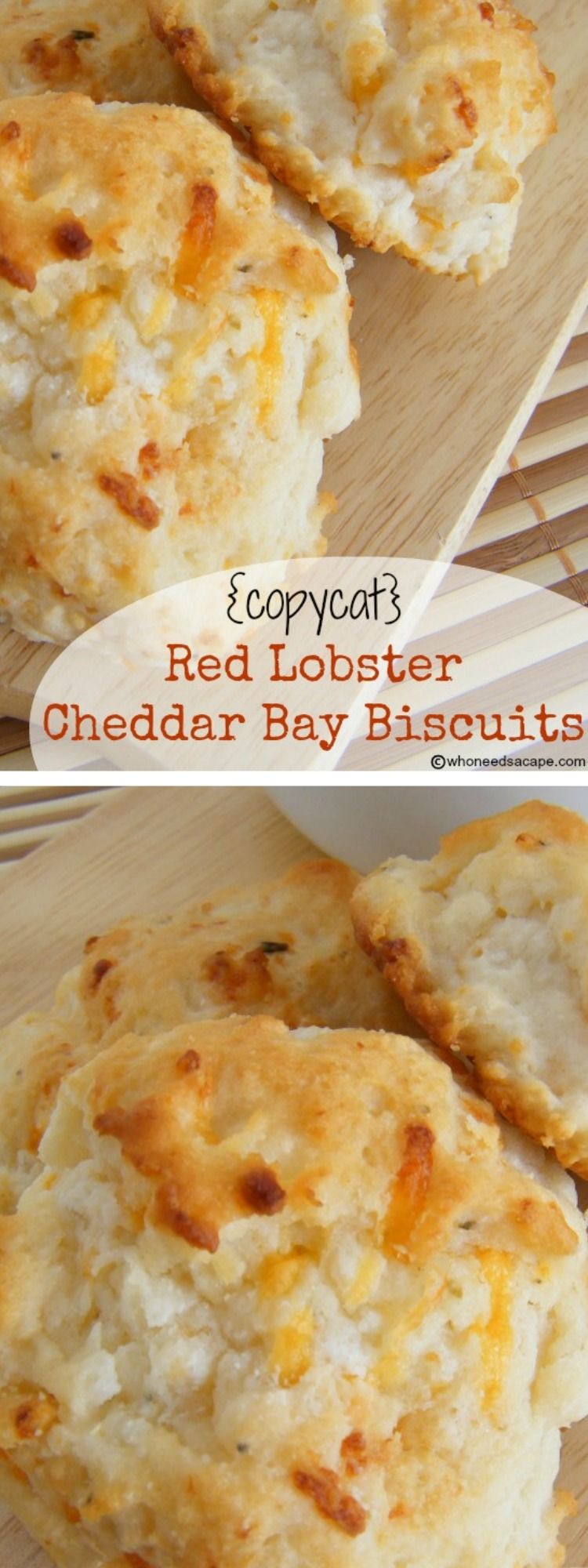 Copycat Red Lobster Cheddar Bay Biscuits Who Needs A Cape