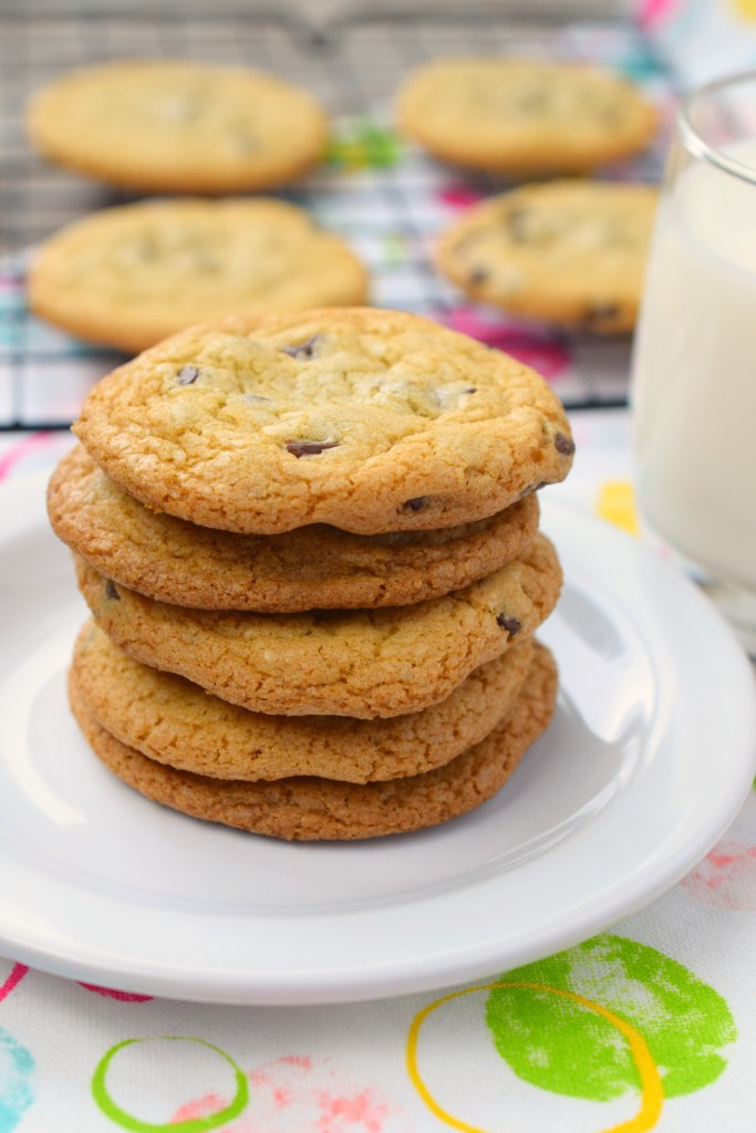 Need cookies, and you find out you have no butter? No problem! Makes these No Butter Chocolate Chip Cookies and you'll get your cookie fix!