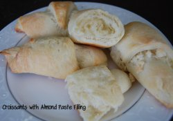 Croissants with Almond Paste Filling