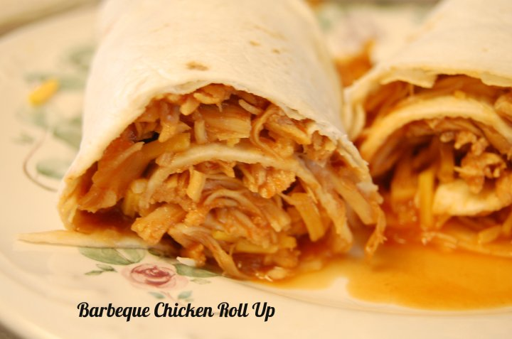 Need an easy family friendly meal from your slow cooker? Make deliciously simple Crock Pot Barbeque Chicken Roll Ups, they'll disappear fast!