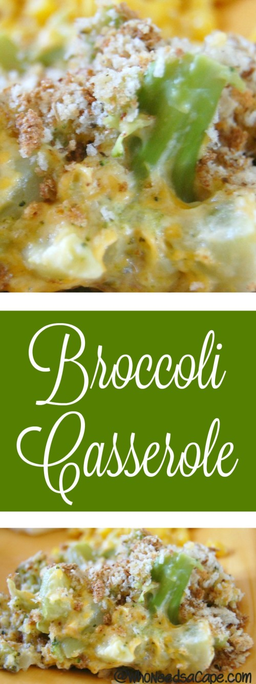 Have a potluck or holiday meal to attend? Bring this Broccoli Casserole, it is a family-favorite and always a huge hit at gatherings. You will love it.